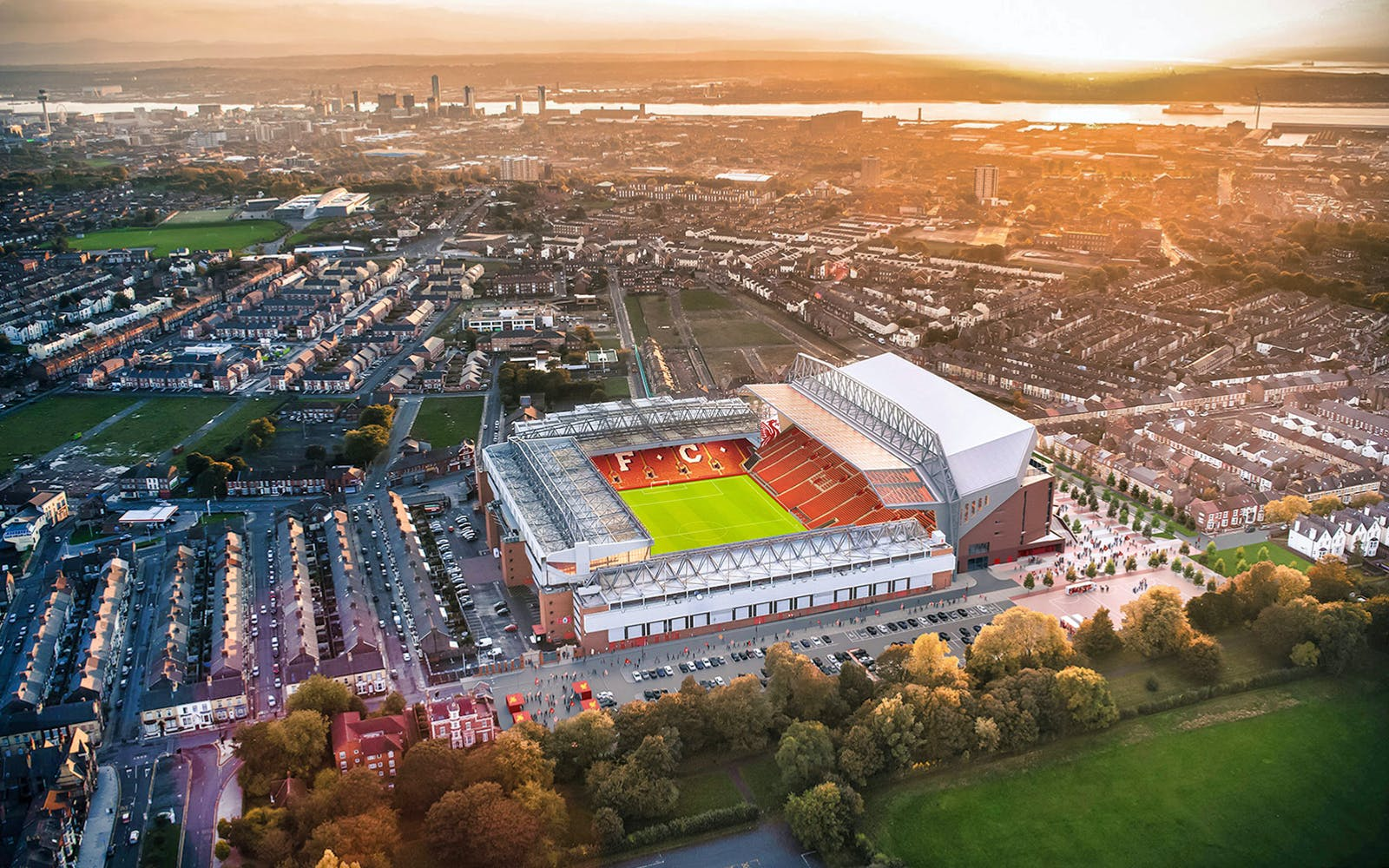 Liverpool FC's Anfield Stadium and Museum Tour