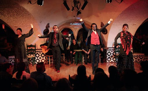 Tablao Cordobés Flamenco Show in Barcelona