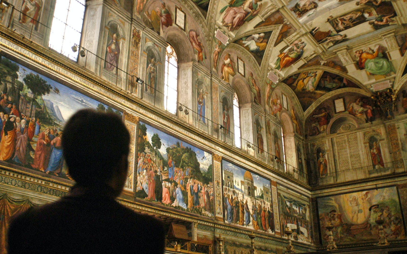 guided tour of the vatican museums, sistine chapel -2