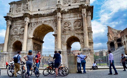 Best of Rome 3 Hour Bike Tour