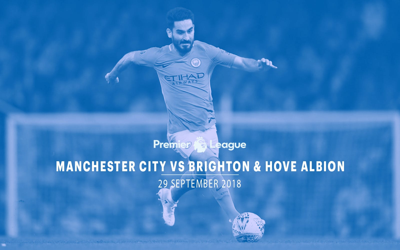 Manchester City vs Brighton & Hove Albion - 29th Sept'18