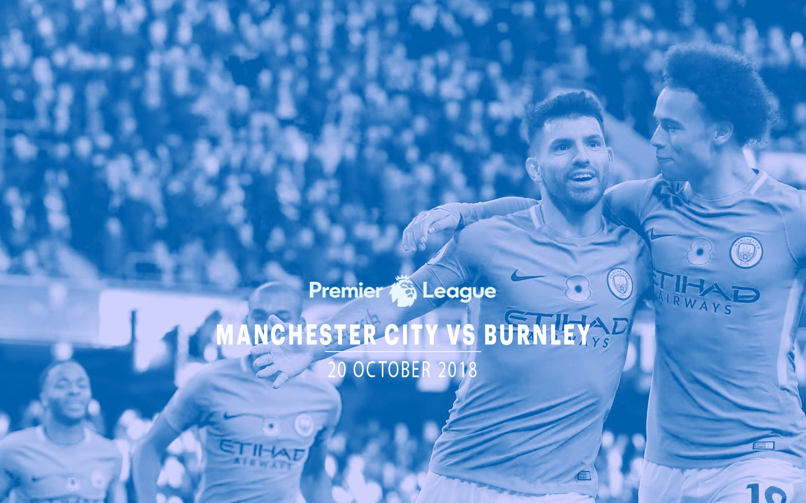 Manchester City vs Burnley - 20th Oct'18