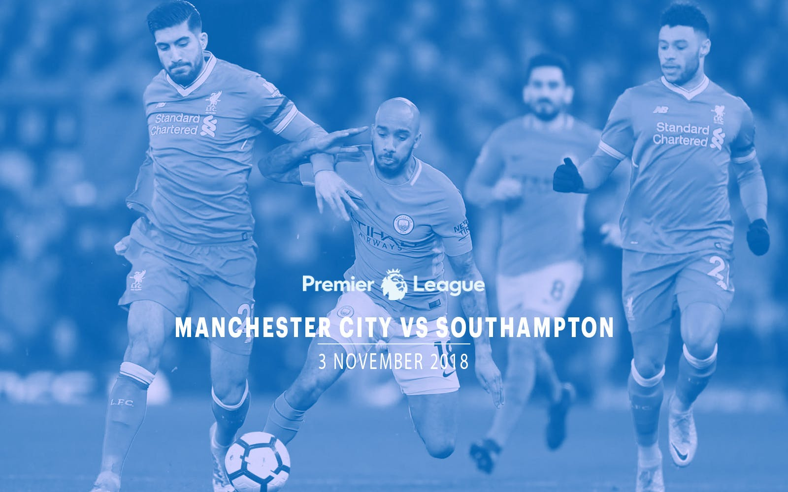 Manchester City vs Southampton - 3rd Nov'18