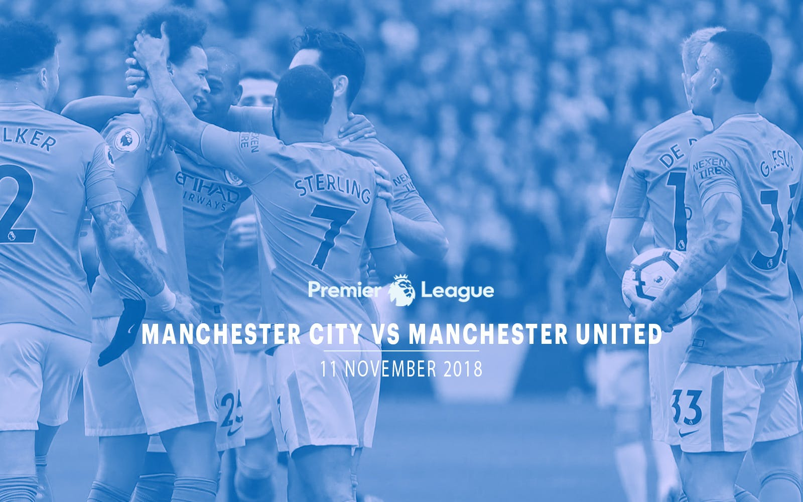 Manchester City vs Manchester United - 11th Nov'18