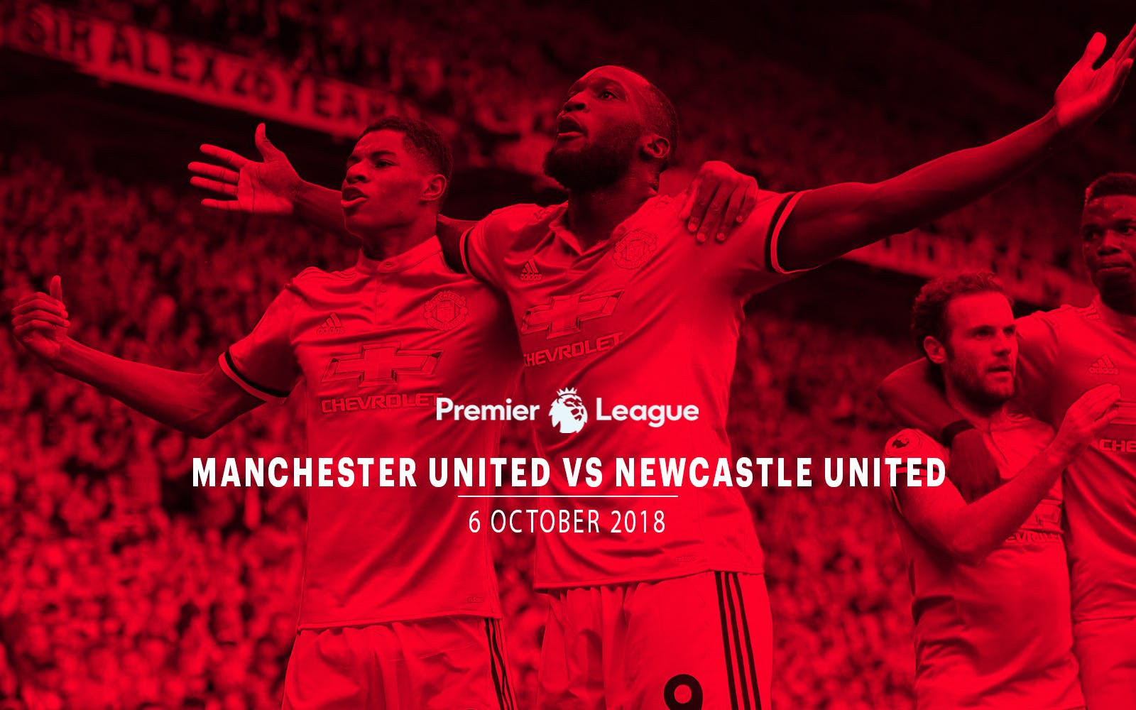 Manchester United vs Newcastle United - Oct 6th'18