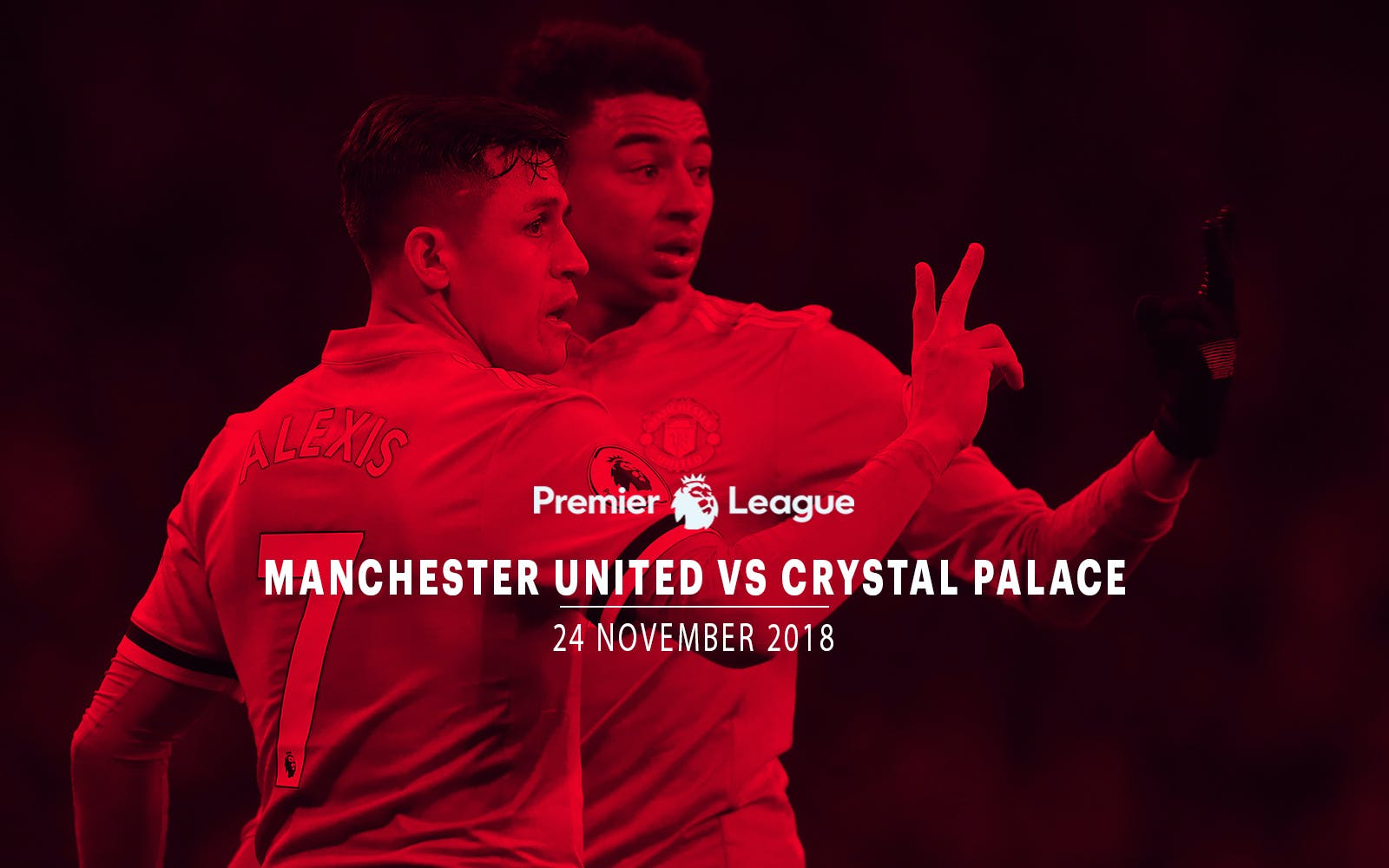 Manchester United vs Crystal Palace - 24th Nov'18