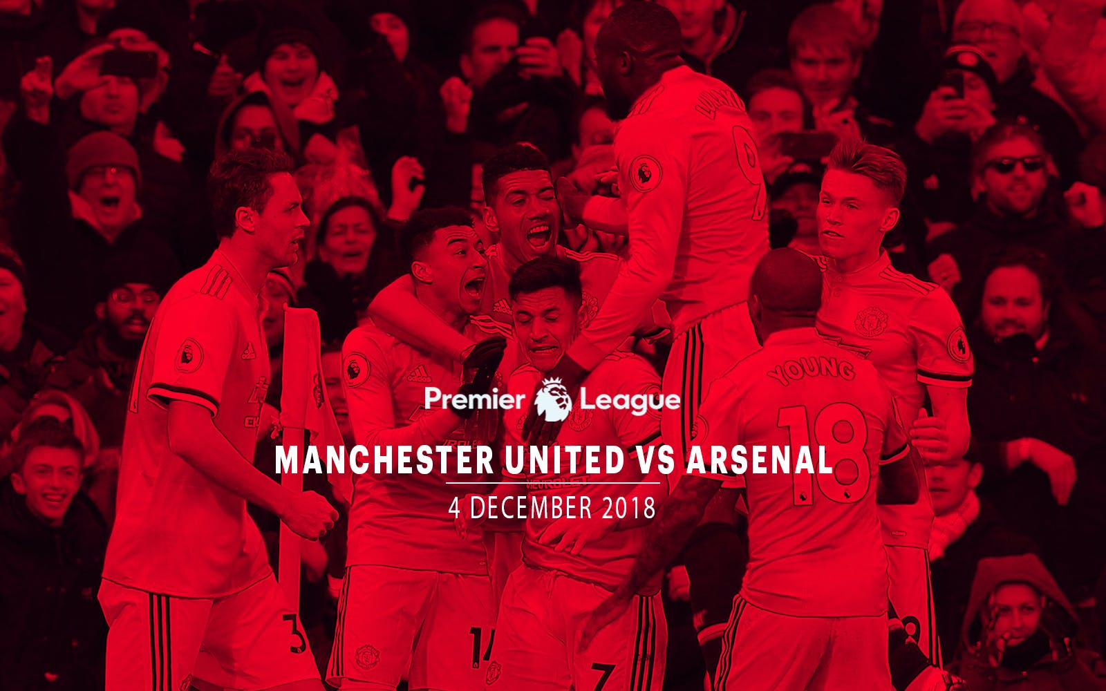 Manchester United vs Arsenal - 4th Dec'18