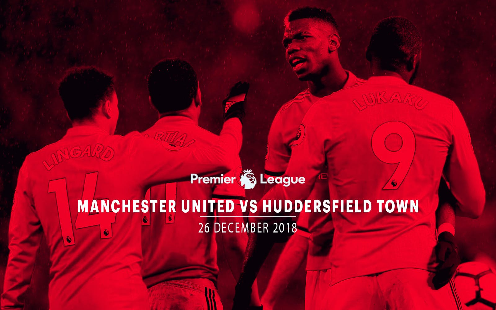 Manchester United vs Huddersfield Town - 26th Dec'18
