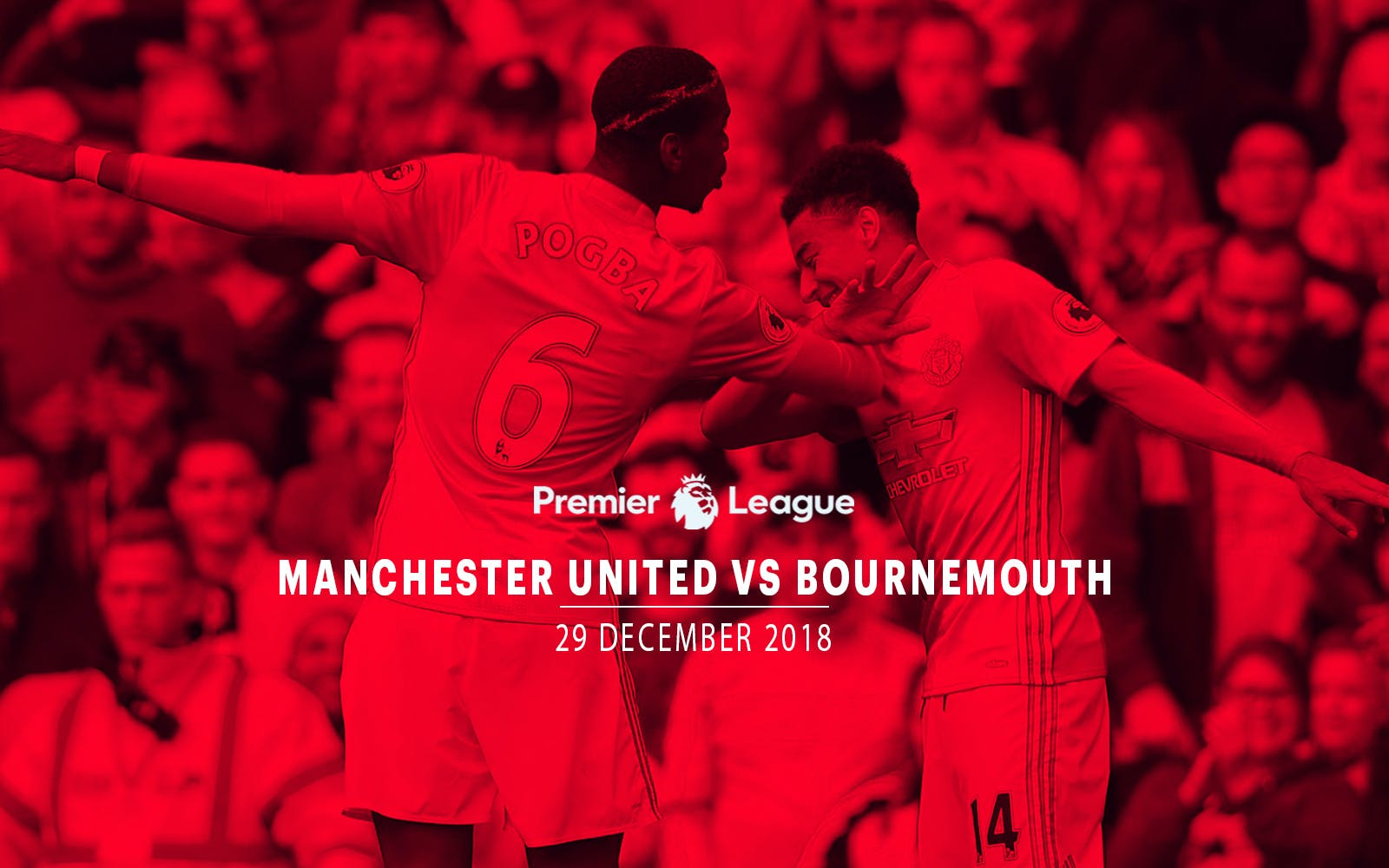 Manchester United vs Bournemouth - 29th Dec'18