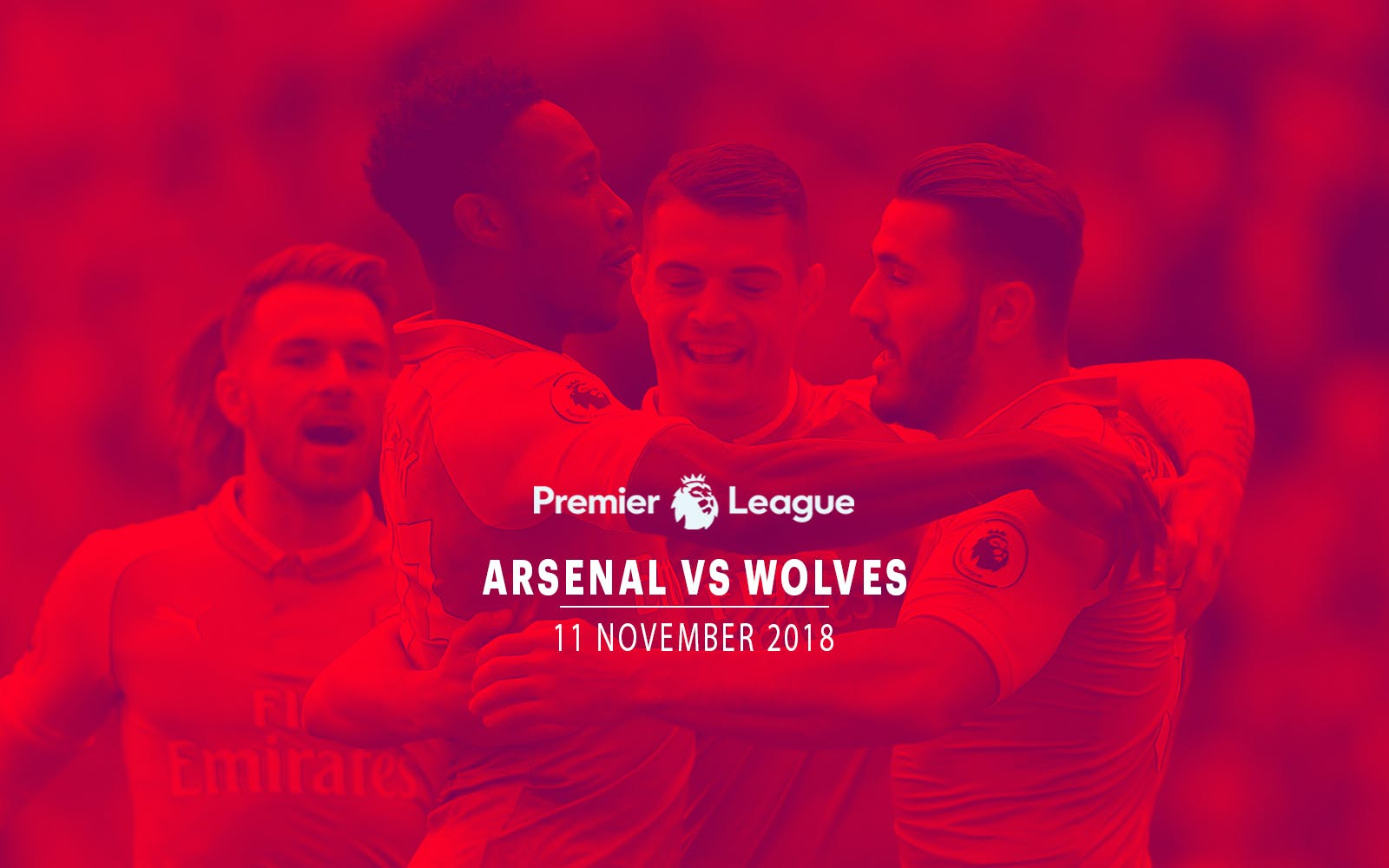 Arsenal vs Wolves - 11th Nov'18