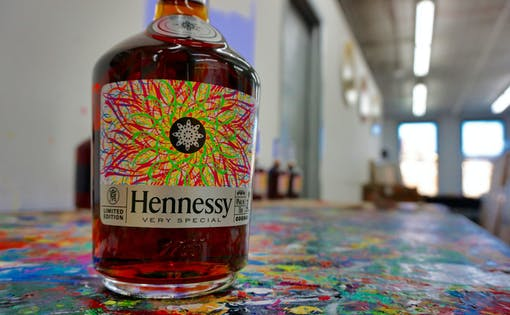 Open Bar Henny N' Paint