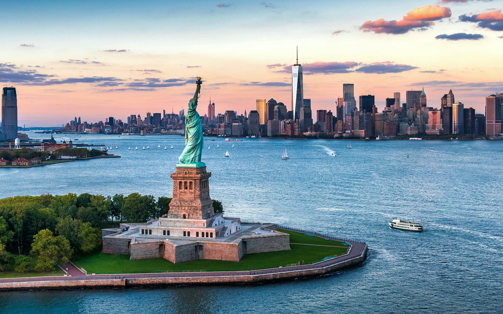 The American Dream: Freedom and Immigration at The Statue of Liberty and Ellis Island