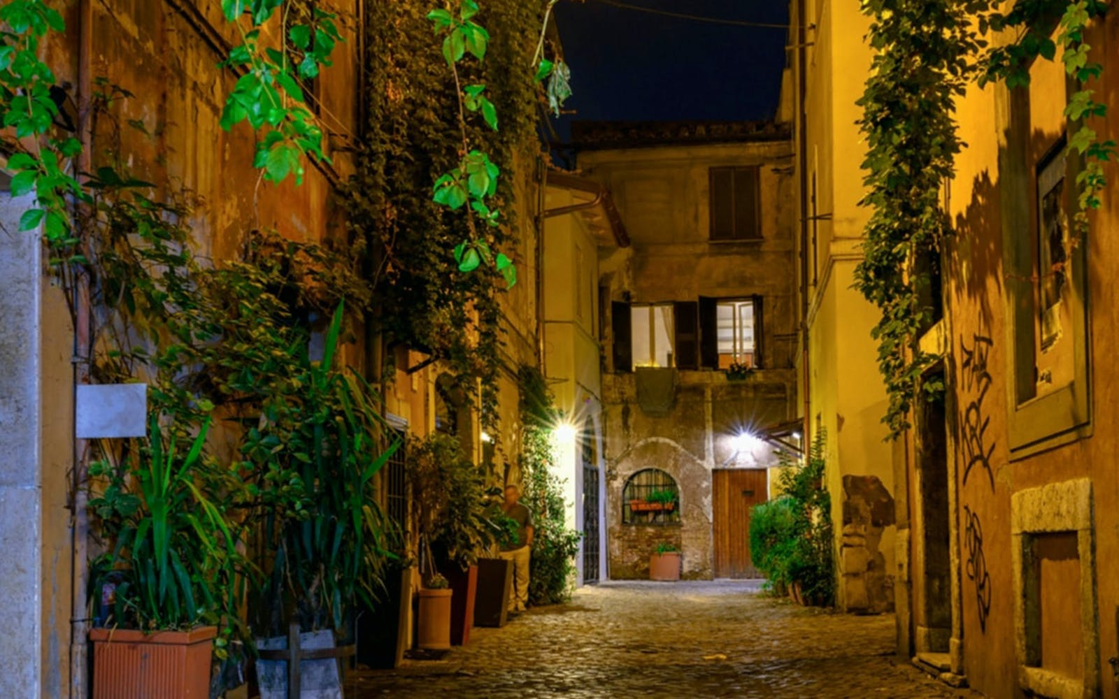 trastevere stroll with exclusive private dinner-2
