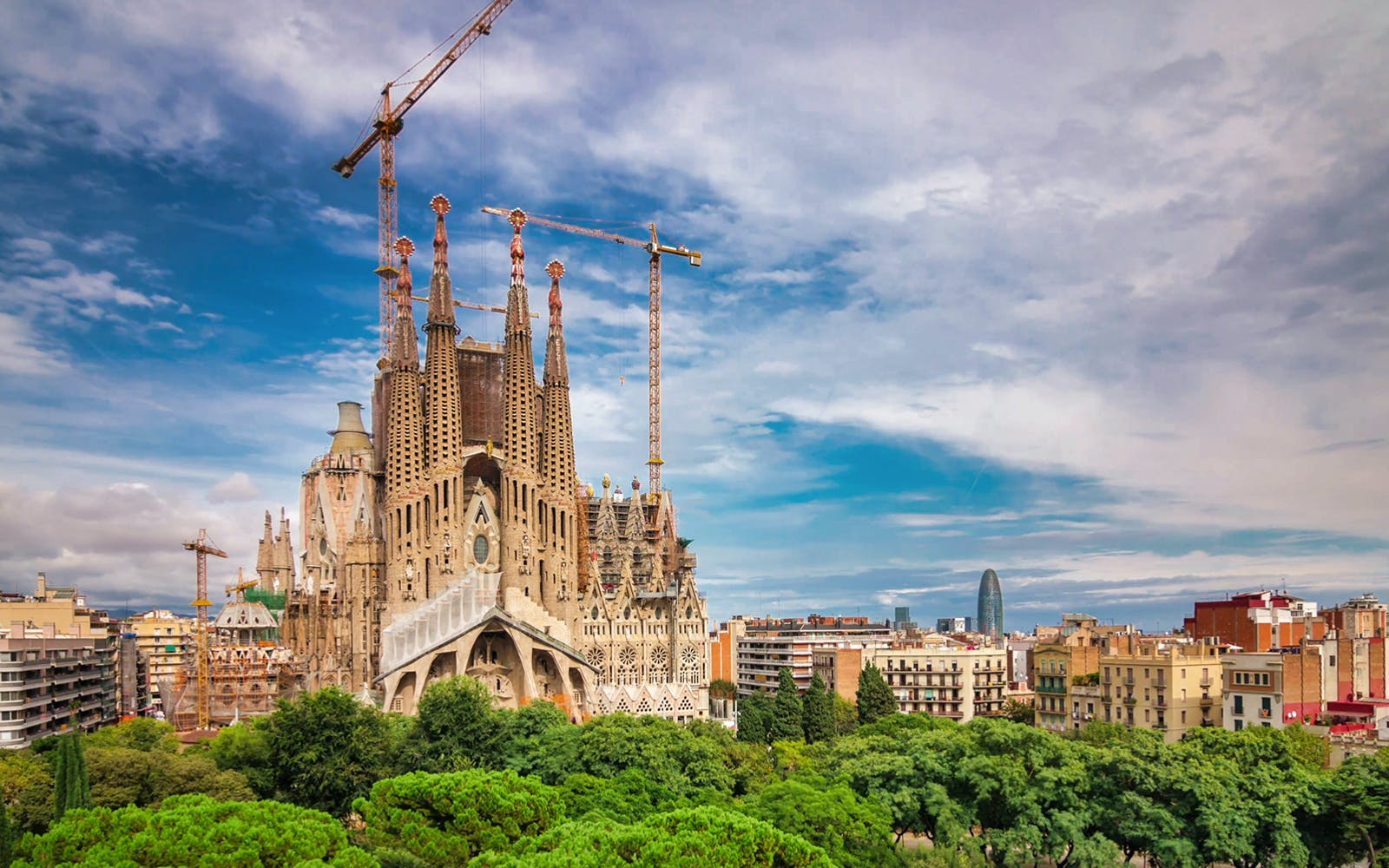 Barcelona in February - Sagrada Familia