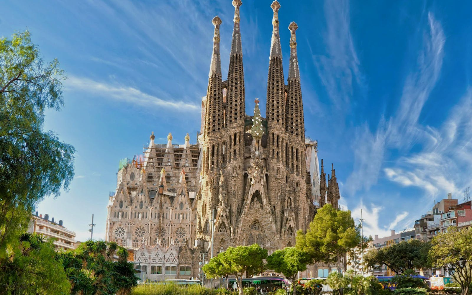 walking tour + fast track guided tour to sagrada familia with towers-4