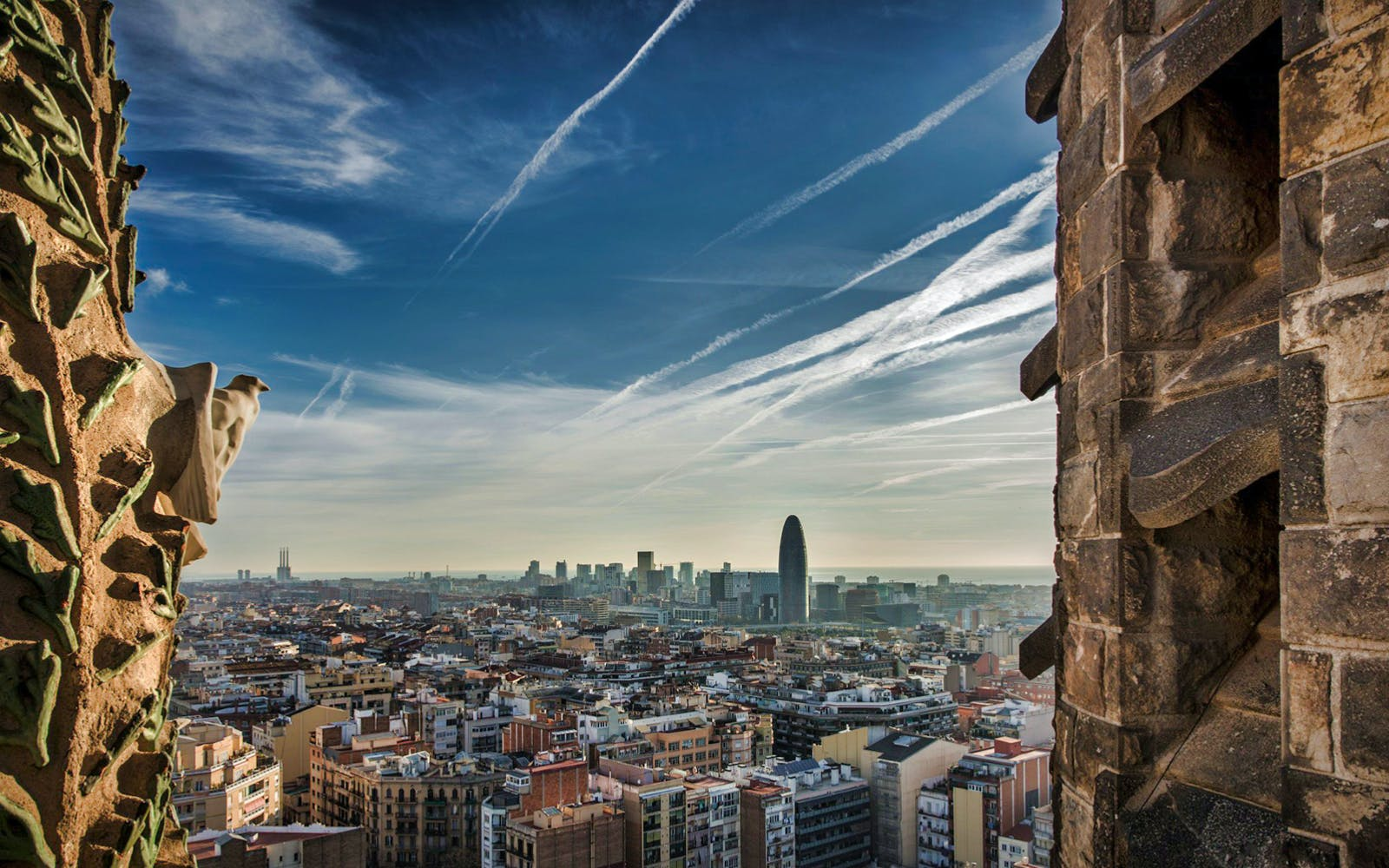 walking tour + fast track guided tour to sagrada familia with towers-3