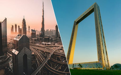 Dubai City Tour + Dubai Frame Entry