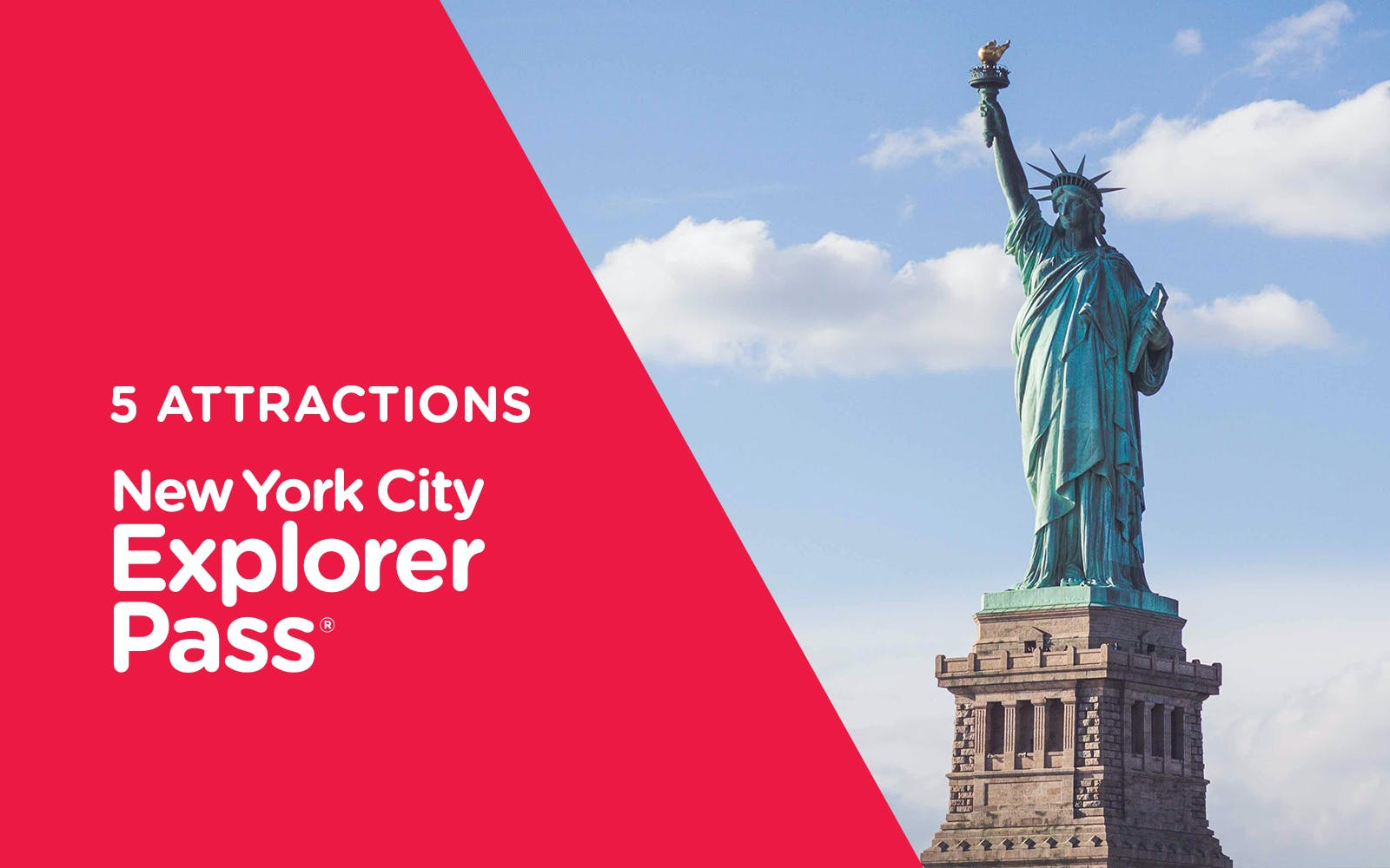 New York Explorer Pass - 5 Attractions
