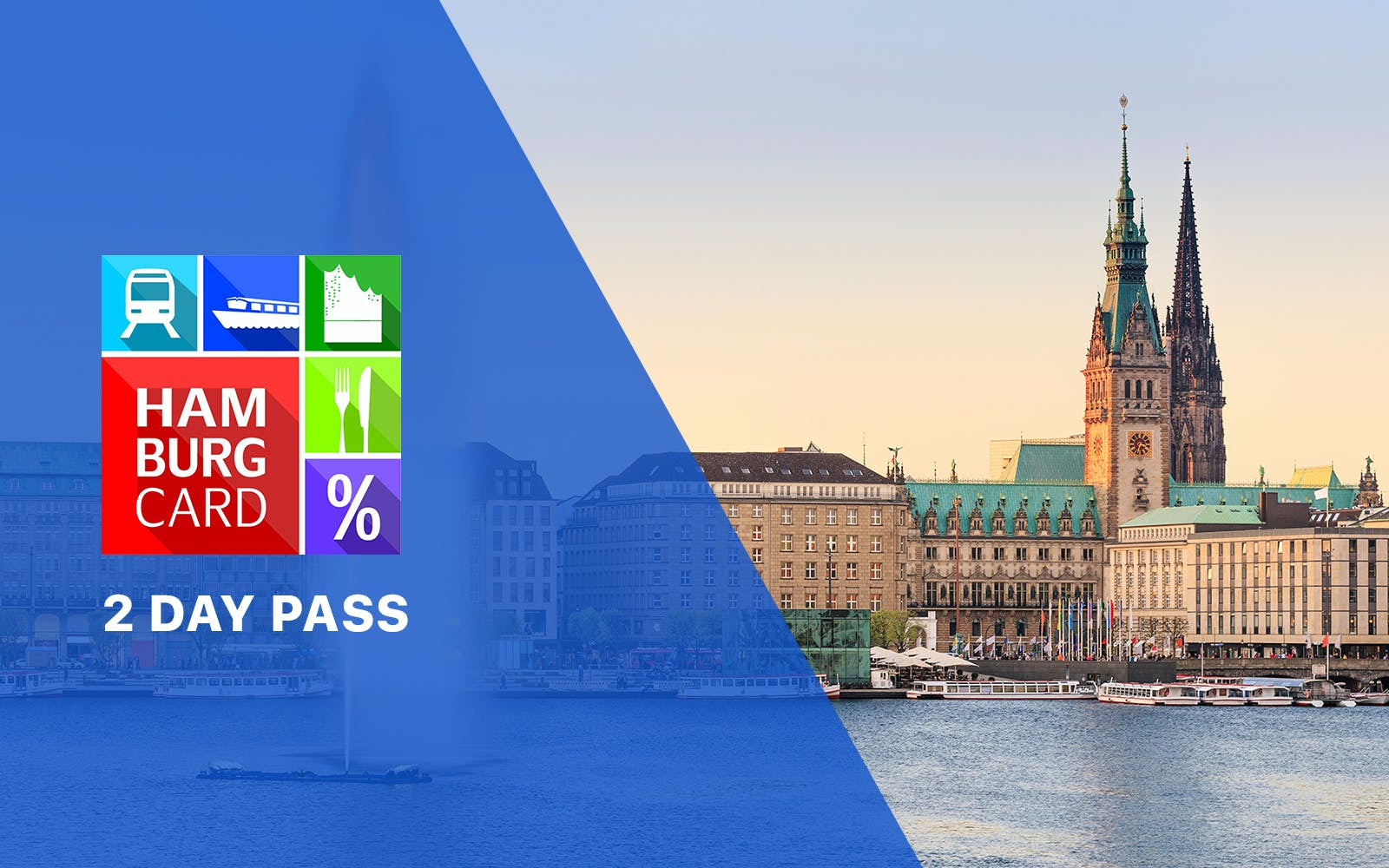 Hamburg Card - 2 day pass