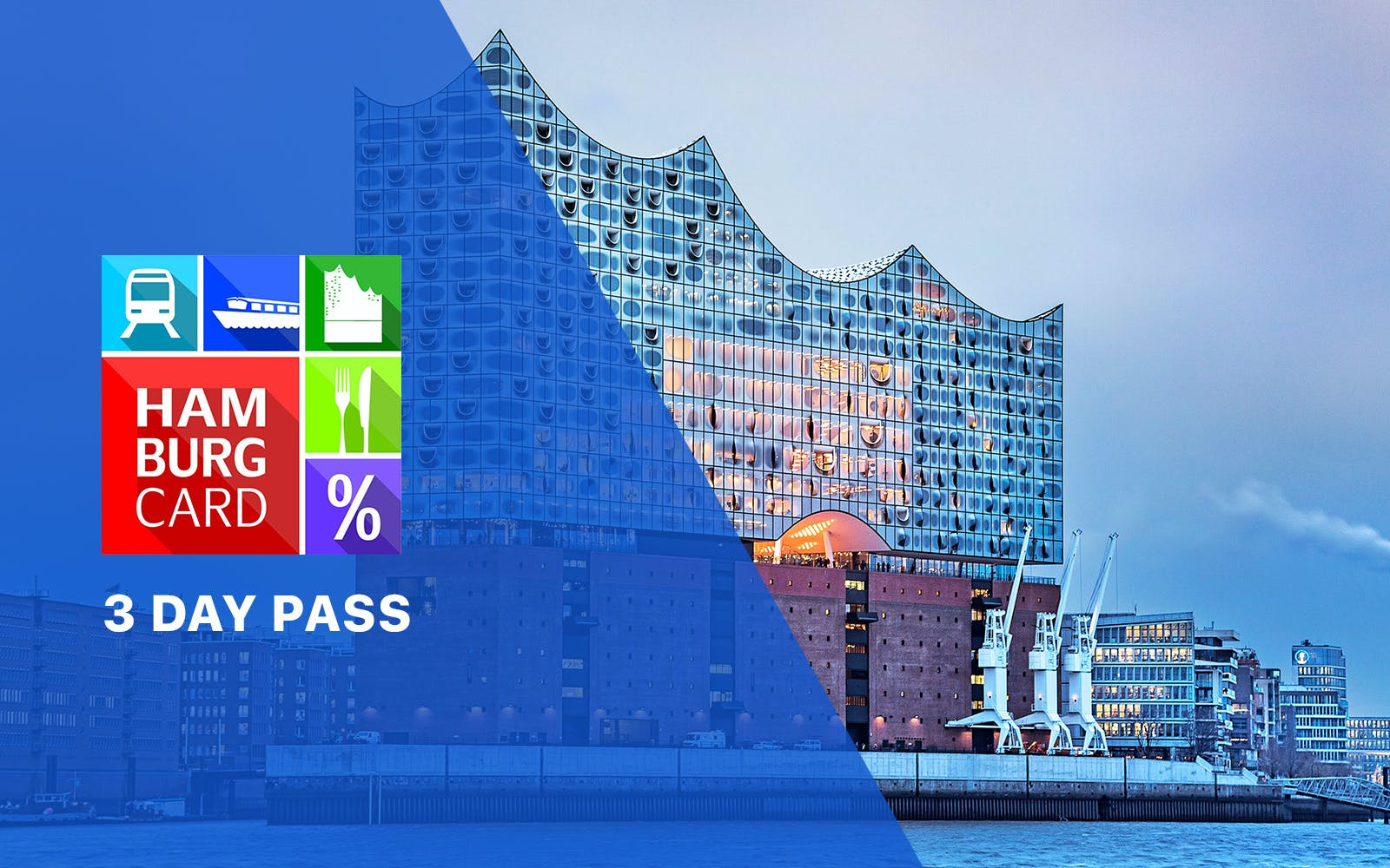 Hamburg Card - 3 day pass