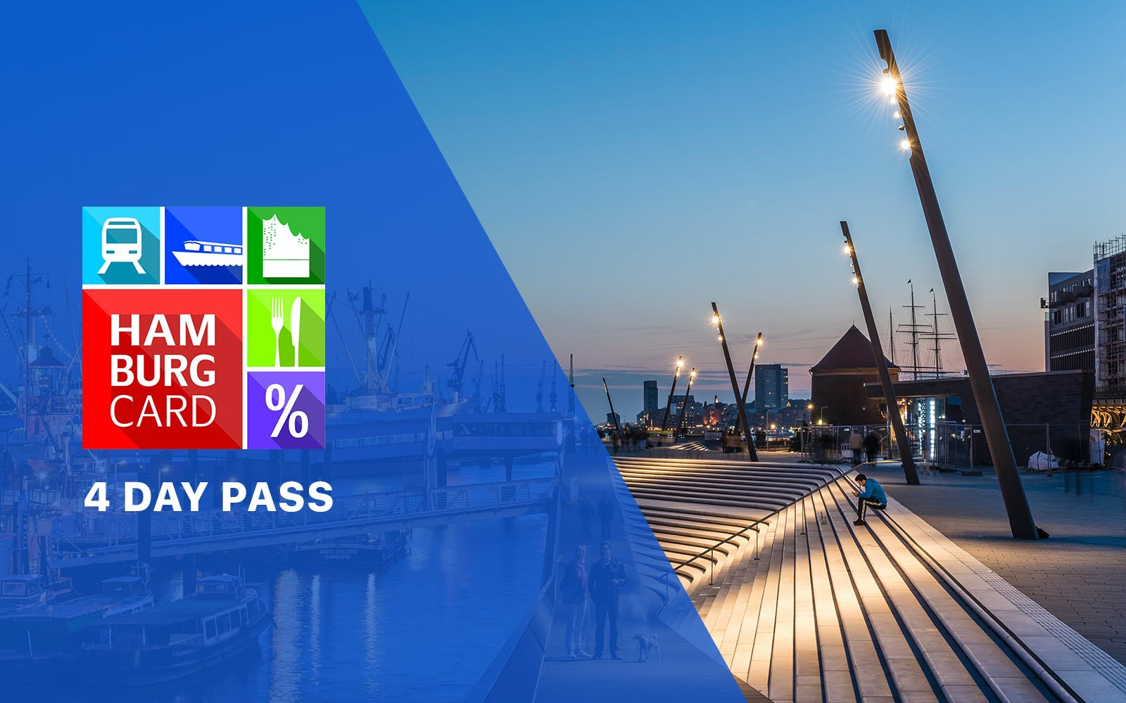 Hamburg Card - 4 day pass