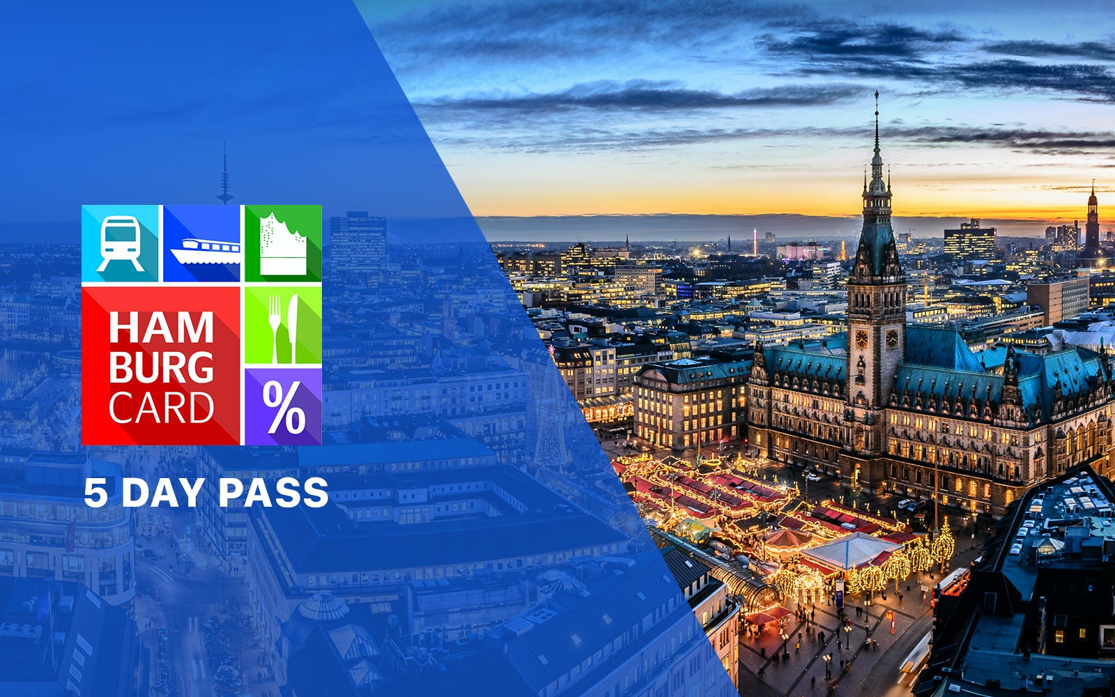 Hamburg Card - 5 day pass