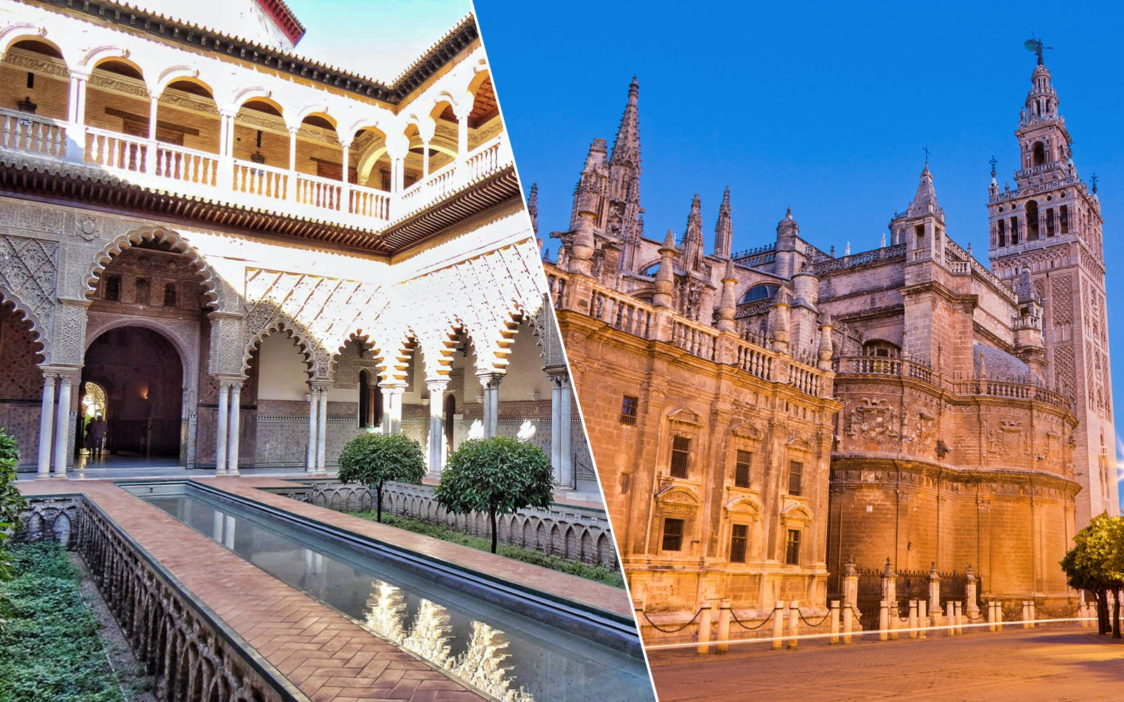 Super Combo: Cathedral & Alcazar of Seville
