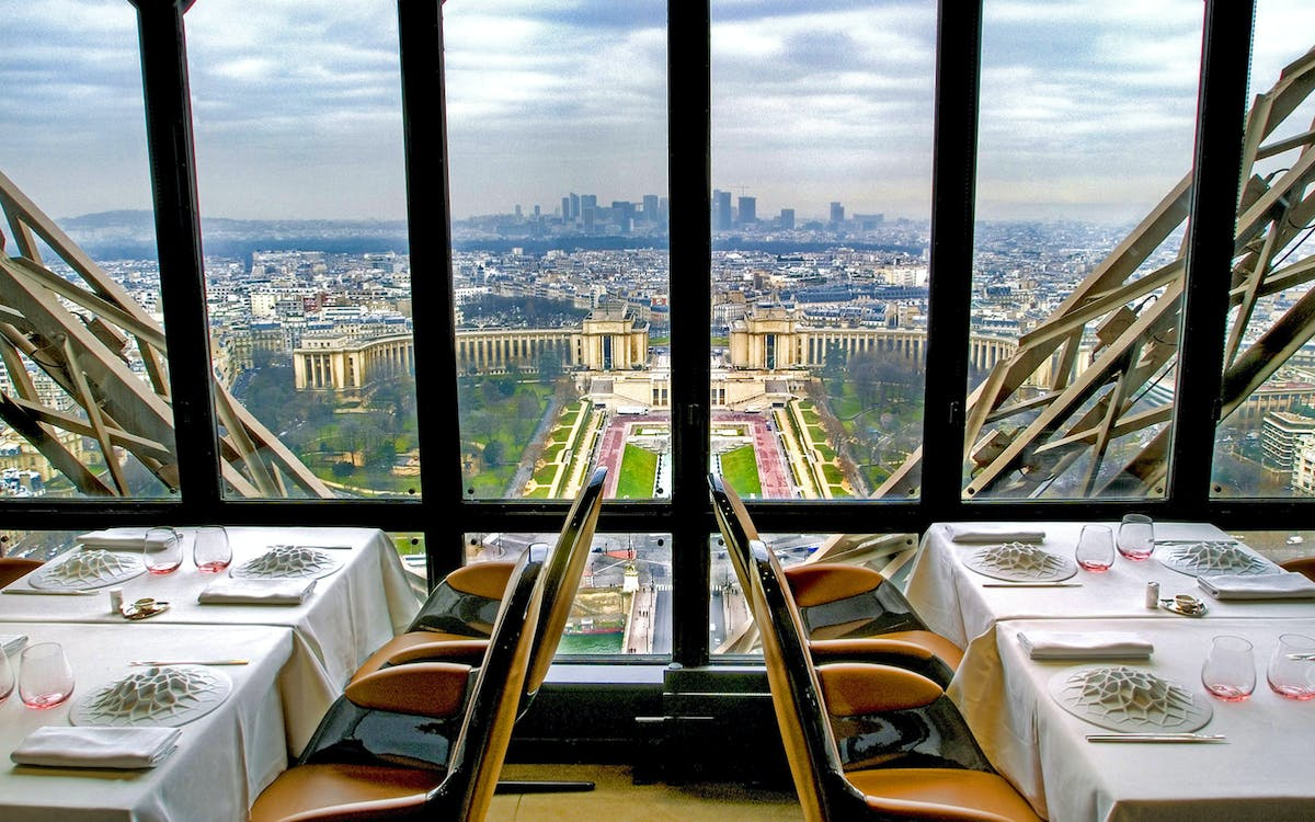 lunch at the eiffel tower with 2nd floor ticket & paris city tour-2
