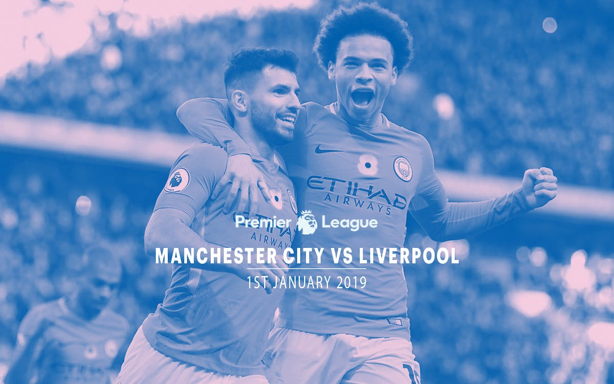 manchester city vs liverpool-  1st jan 2019-1
