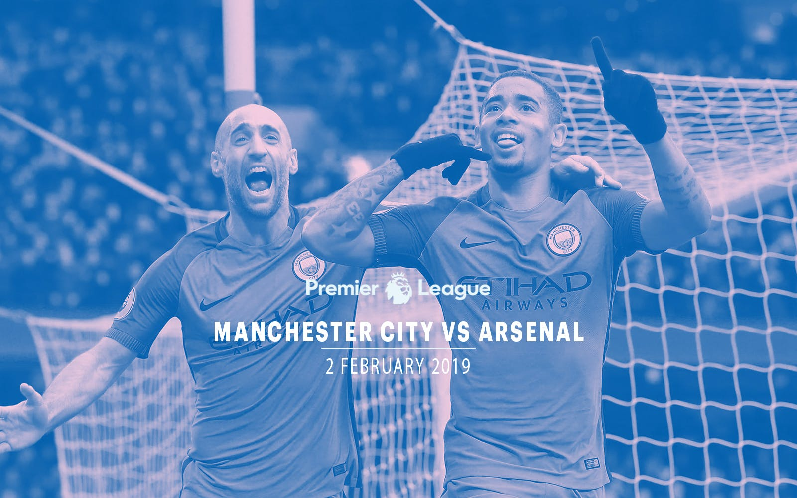 Manchester City vs Arsenal - 2nd Feb'19