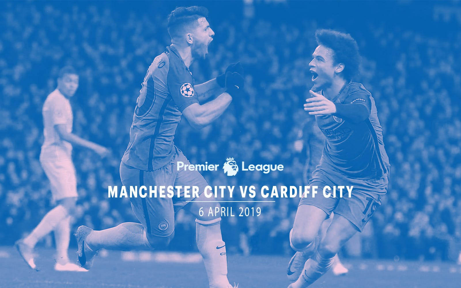 Manchester City vs Cardiff City - 6th Apr '19