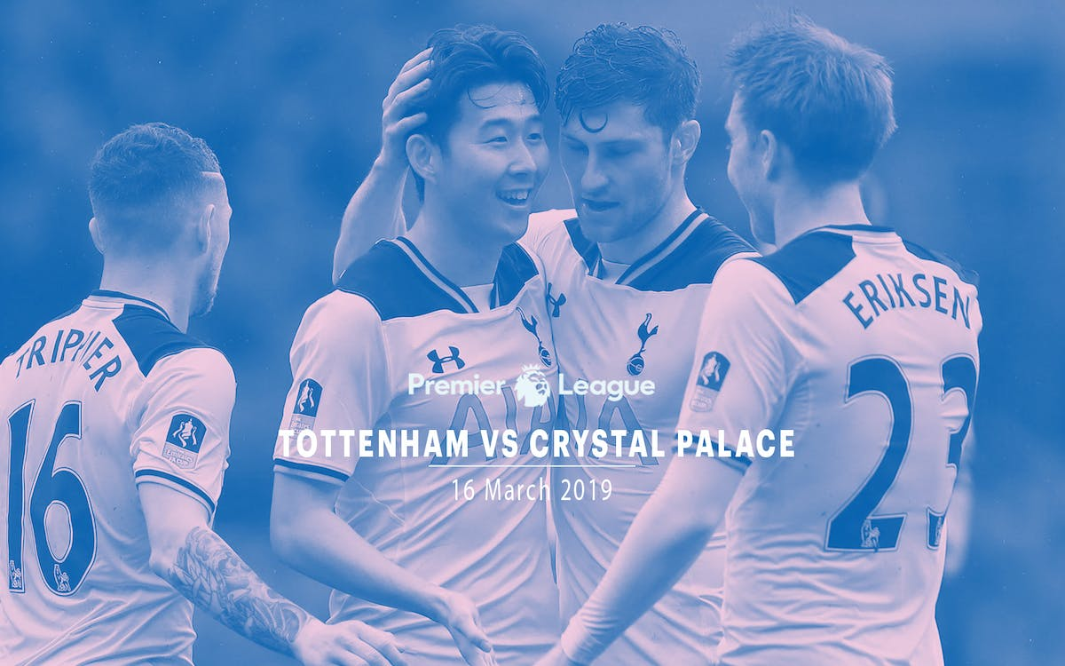 tottenham vs crystal palace - 16th mar'19-1