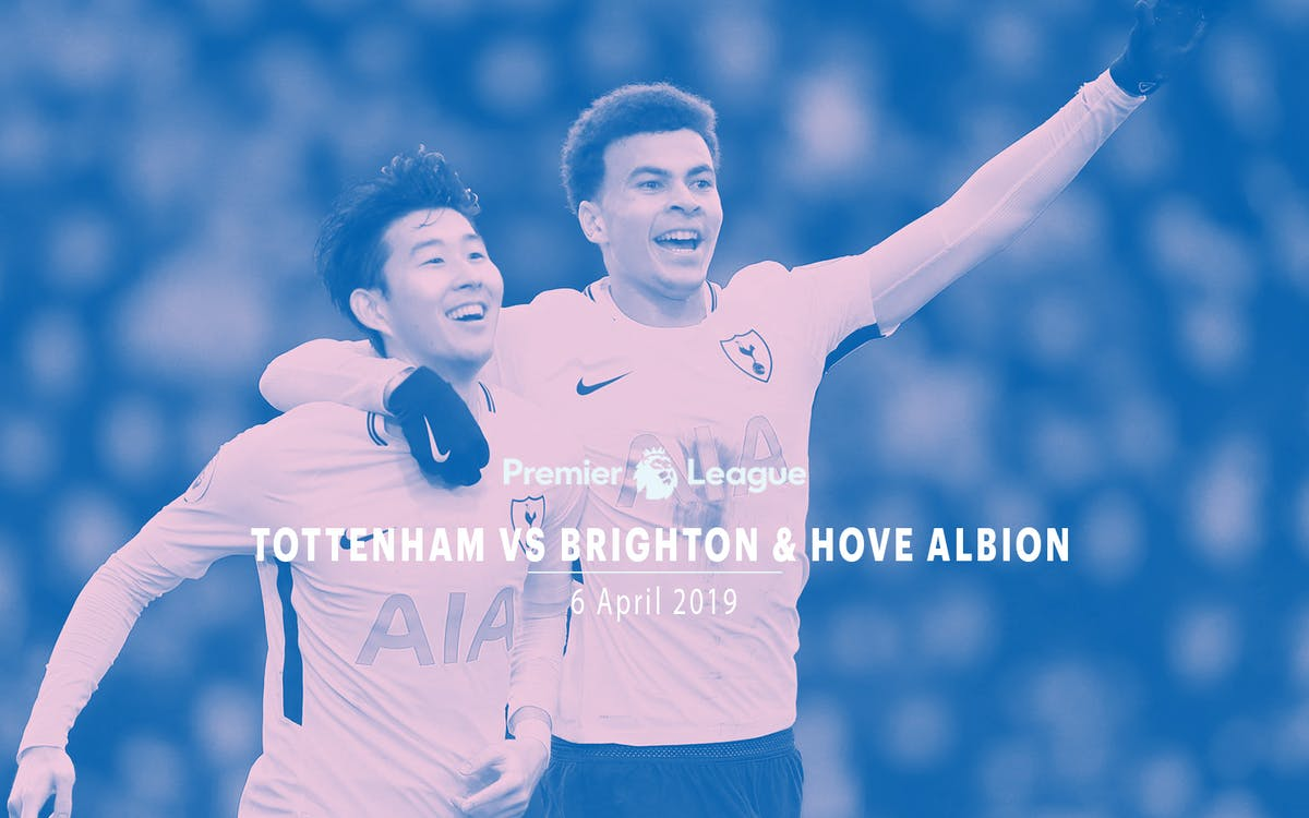 tottenham vs brighton & hove albion - 6th apr'19-1