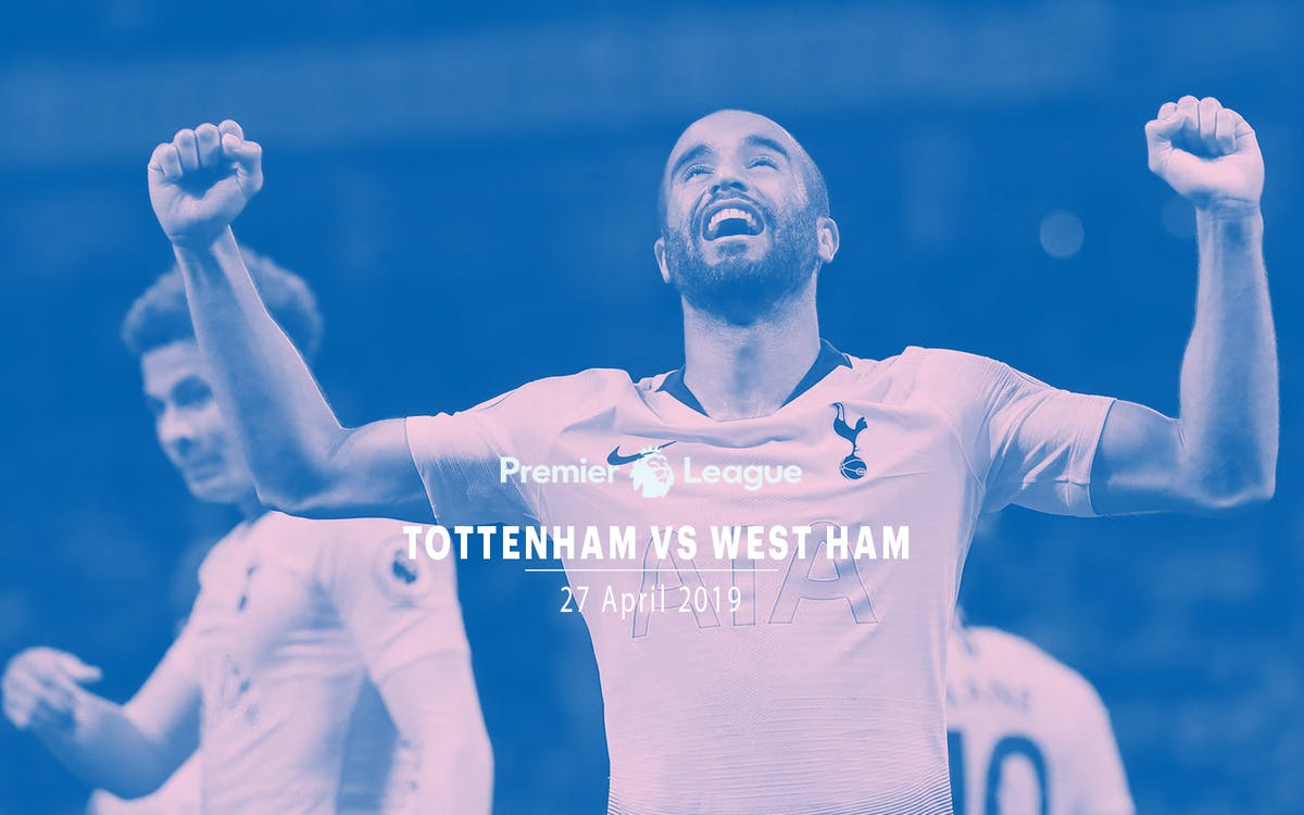 tottenham vs west ham - 27th apr'19-1