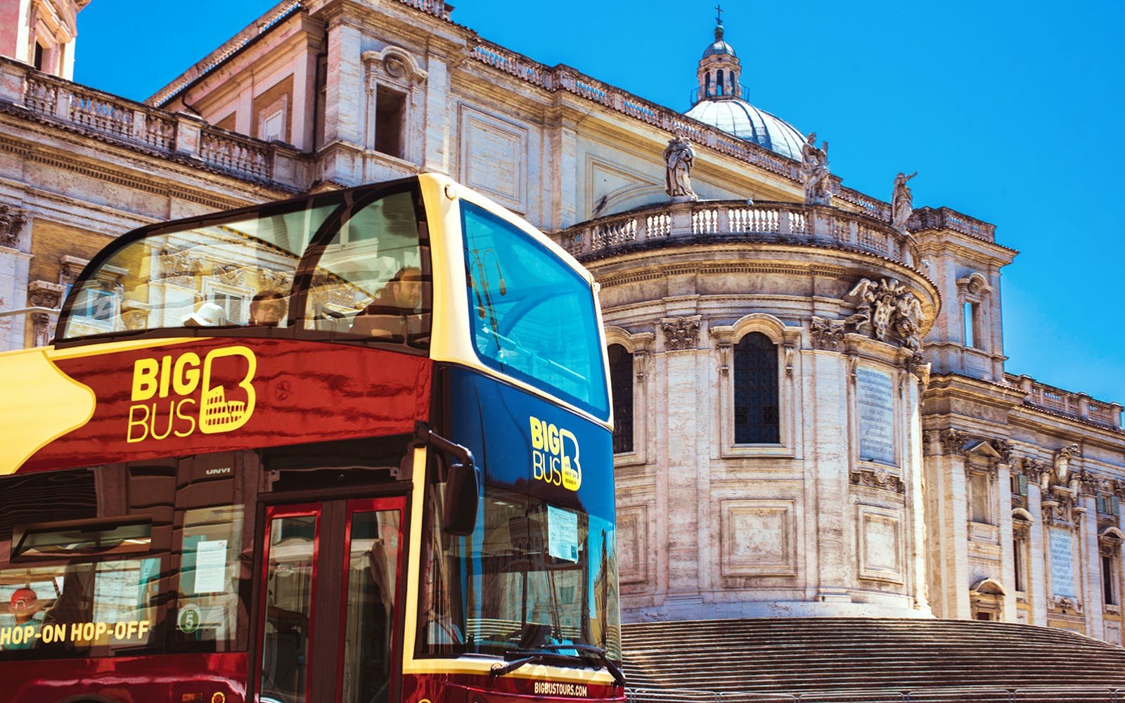 Big Bus Rome 1 day hop on hop off
