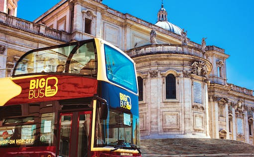 Big Bus: 1 Dia de Hop On Hop Off com Tours a Pé Gratuitos