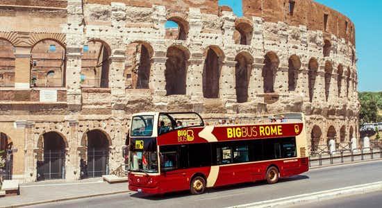Big Bus Rome 2 days hop on hop off