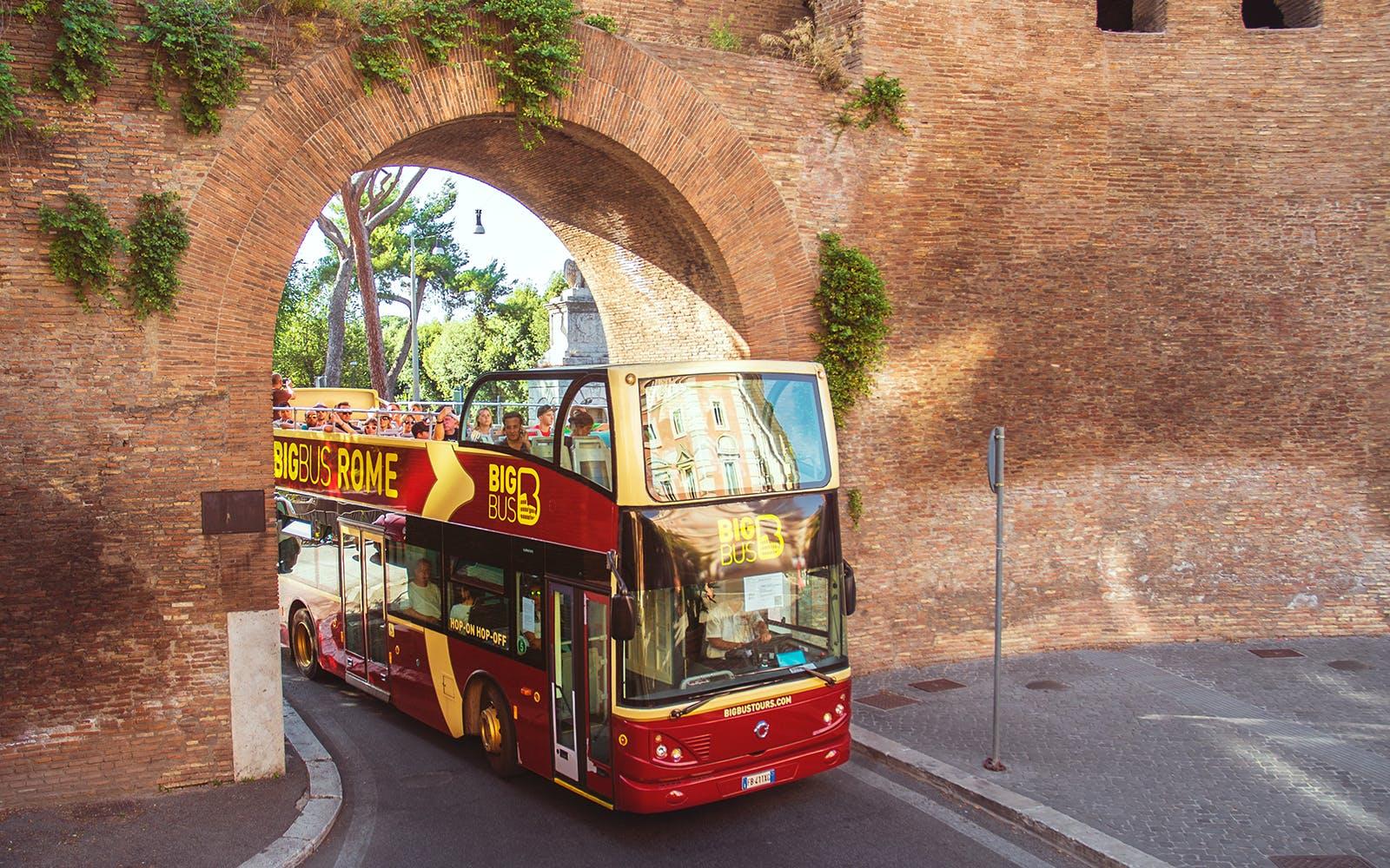 Big Bus Rome 3 days hop on hop off