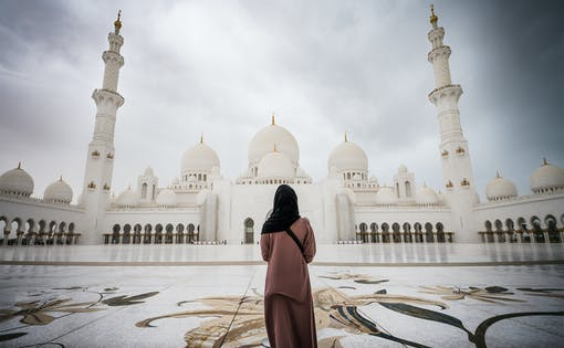 Sheikh Zayed Grand Mosque with Fast Track Entrance with Guided Tour