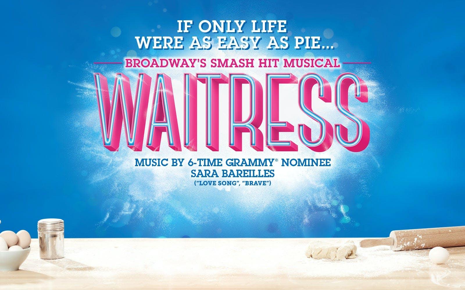 Waitress Musical London tickets