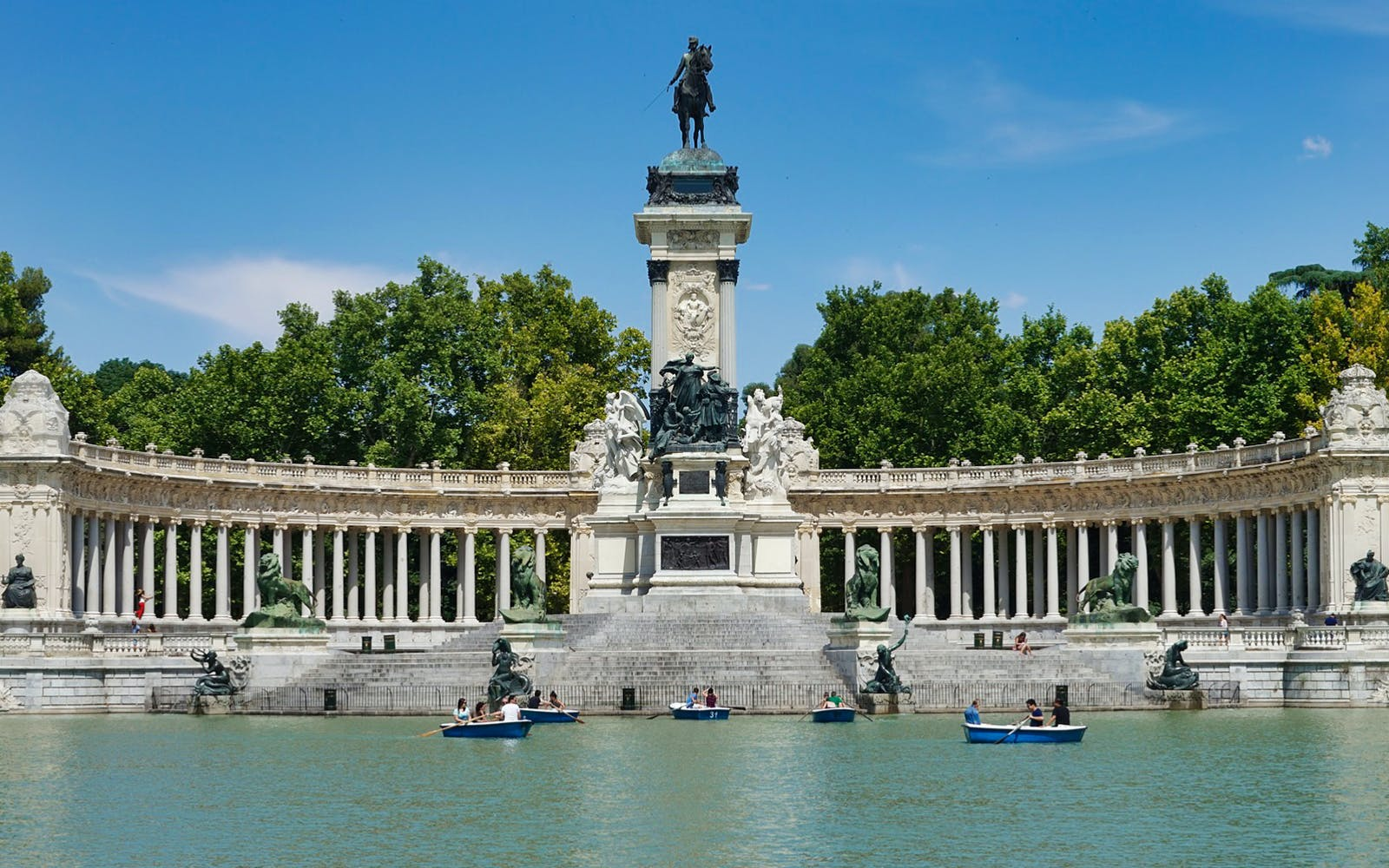 madrid's royal palace and el retiro park guided tour-5