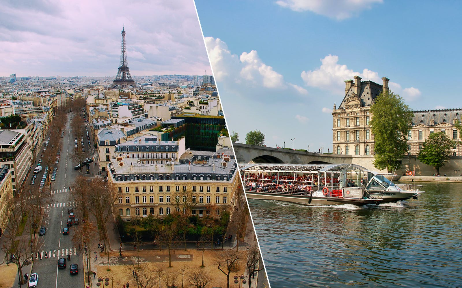 Seine River Cruise and Paris City Tour Combo