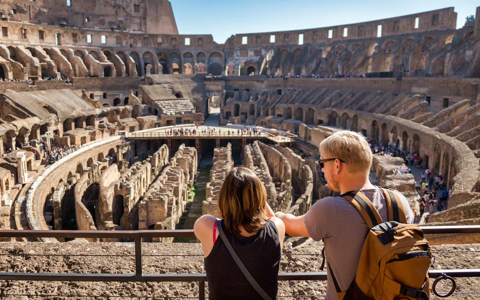 special access tickets: colosseum arena floor & roman forum-3