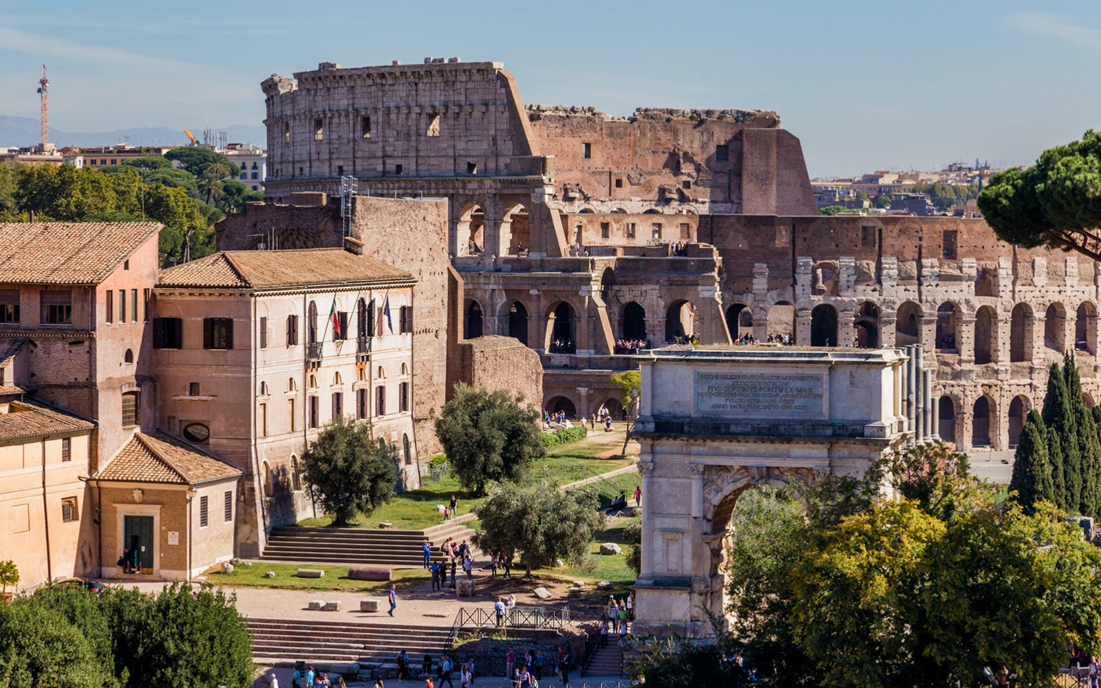 Escorted Entry: Colosseum Arena Access, Roman Forum and Palatine Hill