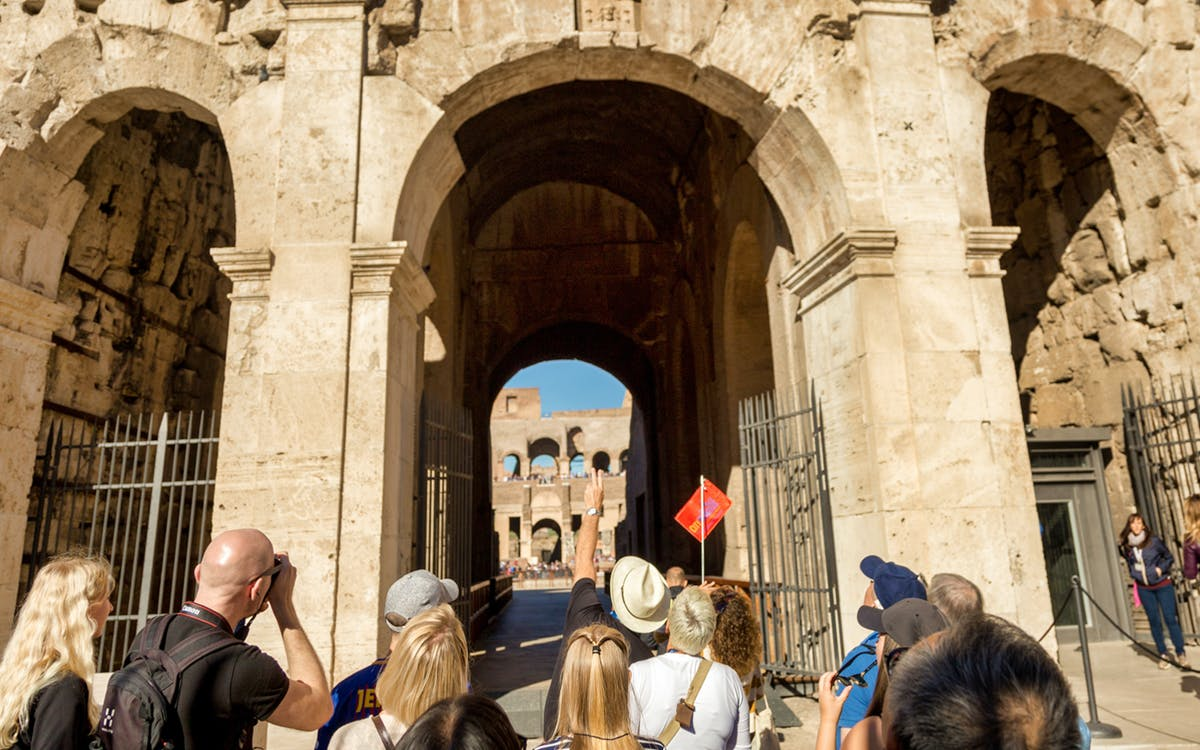 special access tickets: colosseum arena floor & roman forum-4
