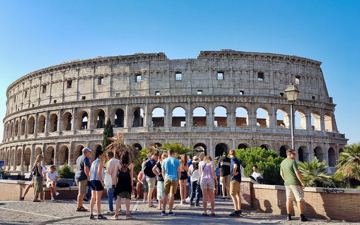 express colosseum tour with gladiator's entrance & arena floor-5