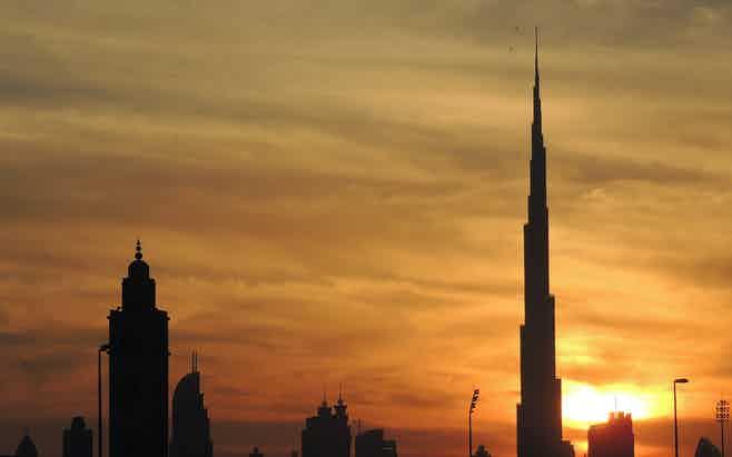 Dubai in 5 days - Burj Khalifa