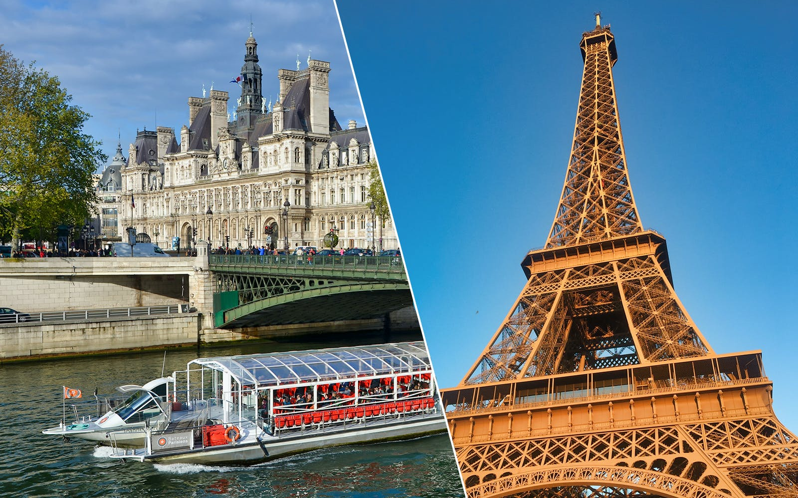 paris in a day: eiffel tower, city tour & seine cruise-1