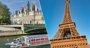 Paris In A Day: Eiffel Tower, City Tour & Seine Cruise