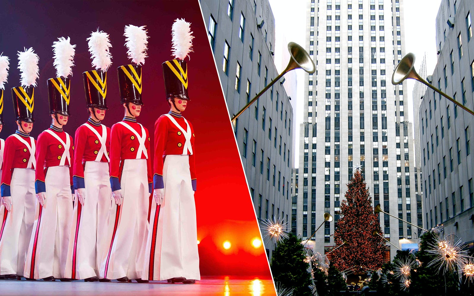 Christmas Spectacular Show & Holiday Lights Walking Tour